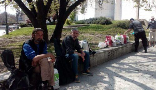 Kako su beskućnici u Novom Sadu preživeli karantinske vikende? 1