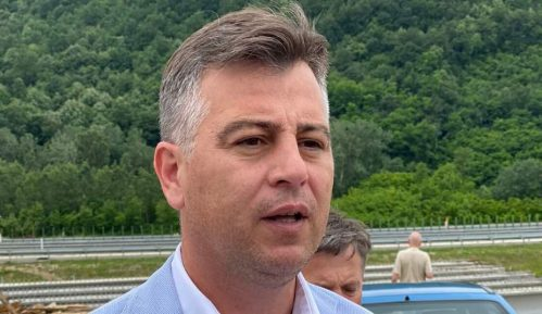 Gradonačelnik Pirota Vladan Vasić sa saradnicima obišao radove na izgradnji Sopotske petlje 11