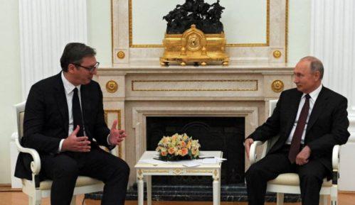 Vučić: Imao sam odličan i vrlo srdačan sastanak sa Putinom 13