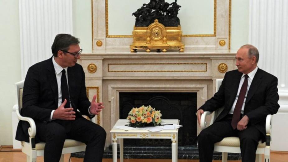 Vučić: Imao sam odličan i vrlo srdačan sastanak sa Putinom 1