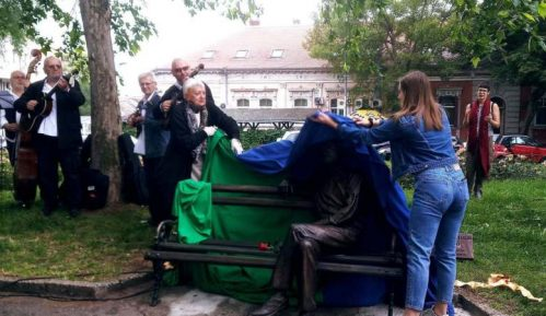 Branko Najhold dobio klupu na Zemunskom keju 5