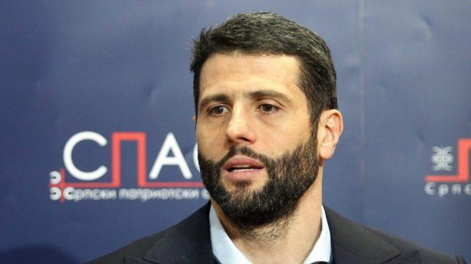 Aleksandar Šapić: Politički plivač 1