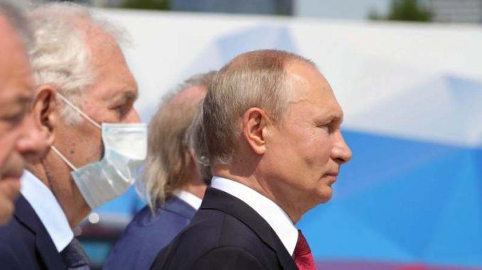 Putin ponovo u javnosti posle dva meseca izolacije zbog korona virusa 3