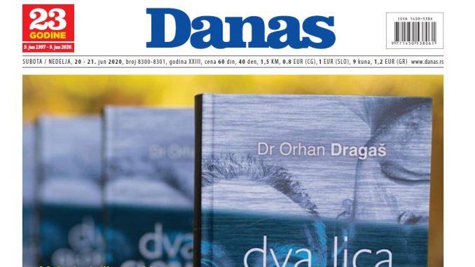 Specijalni dodatak Danasa o knjizi dr Orhana Dragaša (PDF) 1