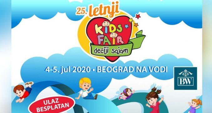 Dečiji letnji sajam 4. i 5. jula na sportskim terenima Beograda na vodi 4