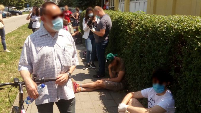 Novi Sad: Obustavljeno testiranje na koronu na sopstveni zahtev 4