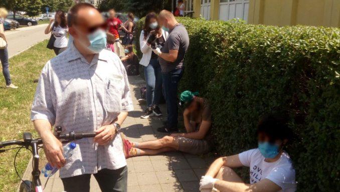 Novi Sad: Obustavljeno testiranje na koronu na sopstveni zahtev 5