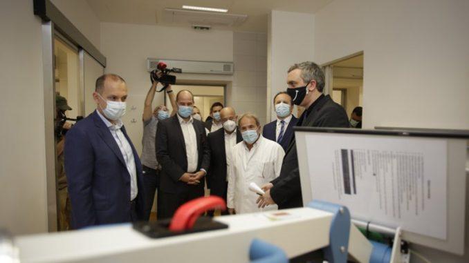 Čadež: Mobilni rendgen aparati za bolnice donacija privrede 2