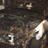 Zapaljen automobil člana CarGo u Velikom mokrom lugu 3