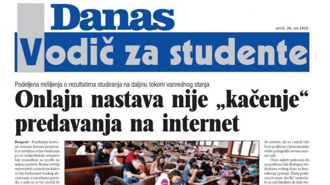 Specijalni dodatak Danasa - vodič za studente (PDF) 1