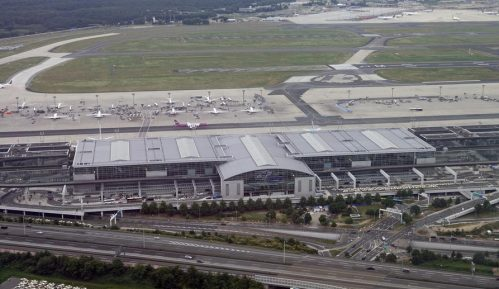 Najveći pad broja putnika tokom pandemije na aerodromu u Frankfurtu 8