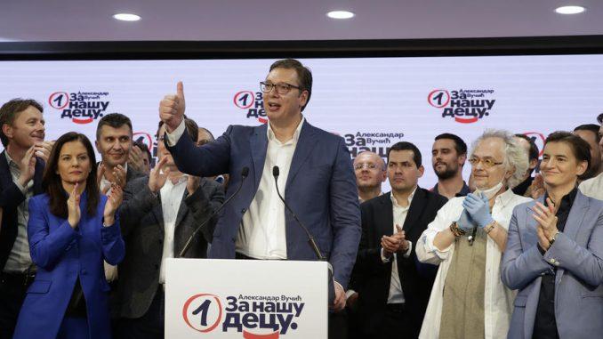 Vodeće svetske agencije izvestile o ubedljivoj pobedi Vučića na izborima u Srbiji 3