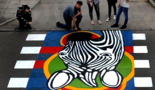 Još jedna đačka zebra osvanula u Zemunu 6