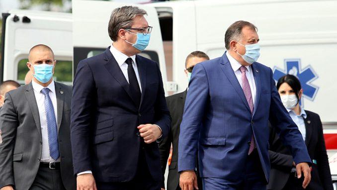 Džaferović i Komšić osudili Dodikove i Vučićeve poruke 3