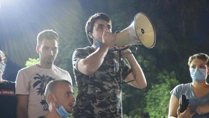 Dogovor ili večeras novi protest studenata 4