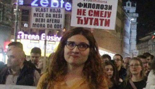 Jelena Anasonović: Treba biti uz narod koji demonstrira 13