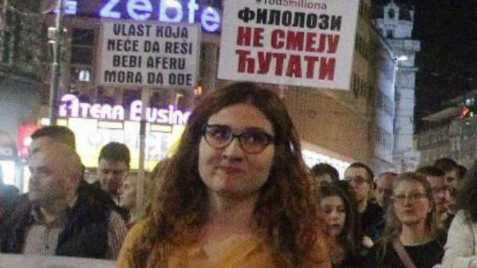 Jelena Anasonović: Treba biti uz narod koji demonstrira 4