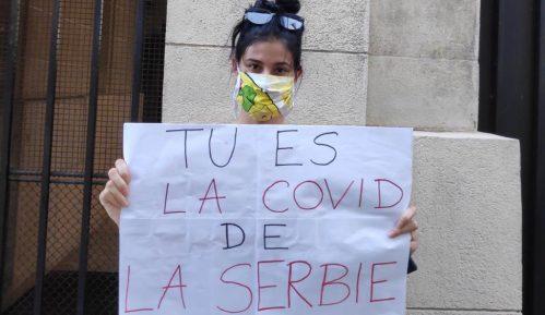 Studenti u Parizu: Ne možemo više da ćutimo na uništavanje demokratije 10
