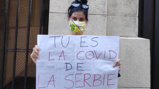Studenti u Parizu: Ne možemo više da ćutimo na uništavanje demokratije 1
