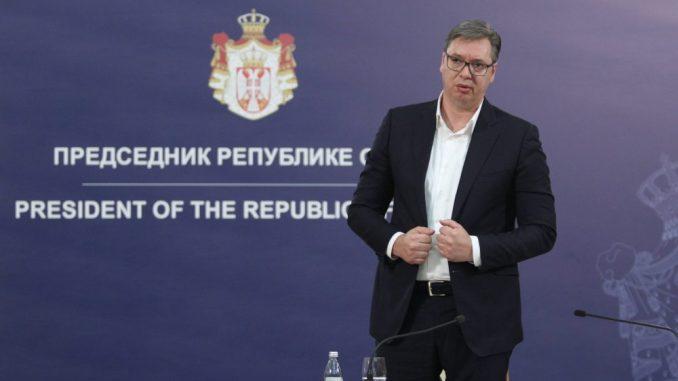 Vučićeve konsultacije sa Vučićem 2