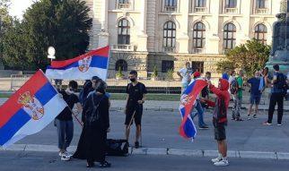 Na petom protestu manje okupljenih nego prethodnih dana (FOTO, VIDEO) 28