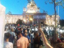Četvrto veče protesta ponovo obeležili incidenti (FOTO, VIDEO) 15