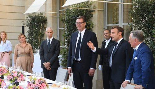 Vučić sa Makronom razgovarao o rešenju kosovsko-metohijskog problema 4