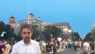 Na petom protestu manje okupljenih nego prethodnih dana (FOTO, VIDEO) 11