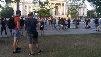 Na petom protestu manje okupljenih nego prethodnih dana (FOTO, VIDEO) 25