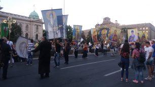 Na petom protestu manje okupljenih nego prethodnih dana (FOTO, VIDEO) 20