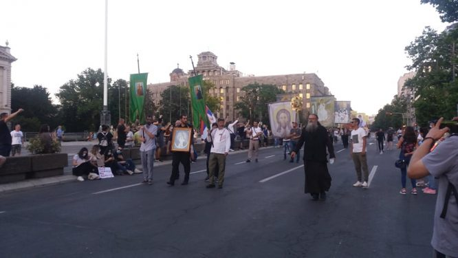 Na petom protestu manje okupljenih nego prethodnih dana (FOTO, VIDEO) 23