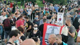 Policija rasterala demonstrante suzavcima i oklopnim vozilima iz centra Beograda (VIDEO, FOTO) 16