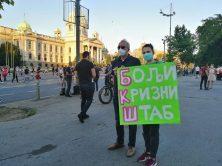 Četvrto veče protesta ponovo obeležili incidenti (FOTO, VIDEO) 24