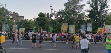 Na petom protestu manje okupljenih nego prethodnih dana (FOTO, VIDEO) 19