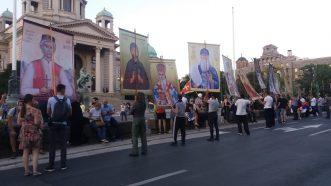 Na petom protestu manje okupljenih nego prethodnih dana (FOTO, VIDEO) 22