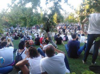 Treće veče protesta prošlo bez većih incidenata (FOTO, VIDEO) 14
