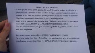 Šesti protest u Beogradu bez incidenata, uz učešće oko 1.000 ljudi (FOTO/VIDEO) 30