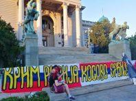Četvrto veče protesta ponovo obeležili incidenti (FOTO, VIDEO) 28