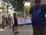 Protest ispred CZ-a održan drugi dan zaredom (FOTO, VIDEO) 3