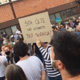 Protest ispred CZ-a održan drugi dan zaredom (FOTO, VIDEO) 19