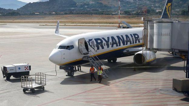 Avion na aerdromu