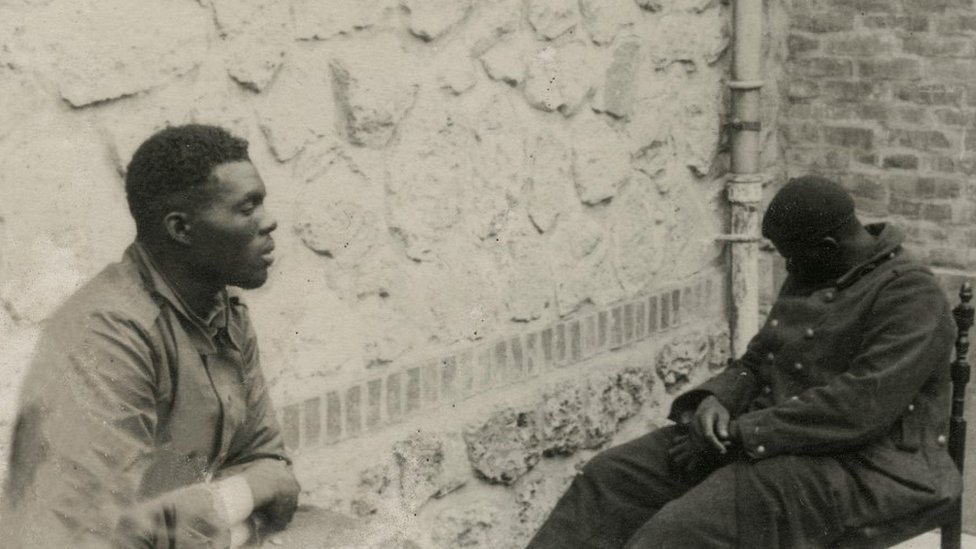 French African POWs in 1940
