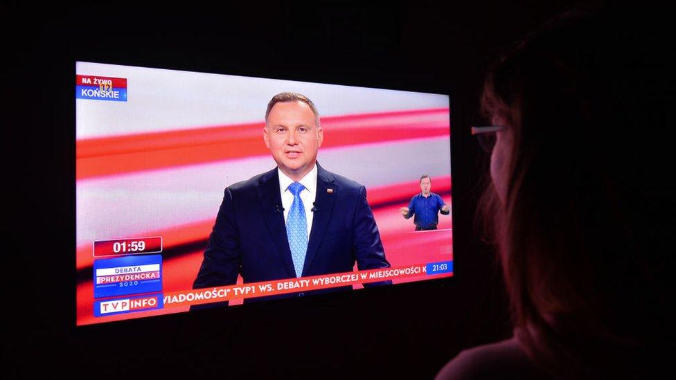 Duda na televiziji