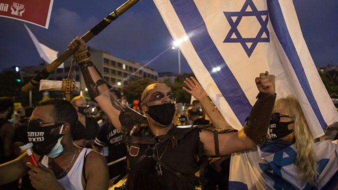 Korona virus: Hiljade na protestu u Izraelu zbog načina upravljanja privrednom krizom izazvanom korona virusom 4