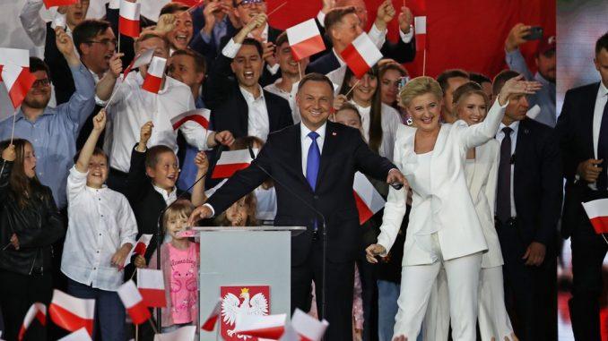 Izbori u Poljskoj: Tesna pobeda knzervativca Dude 1