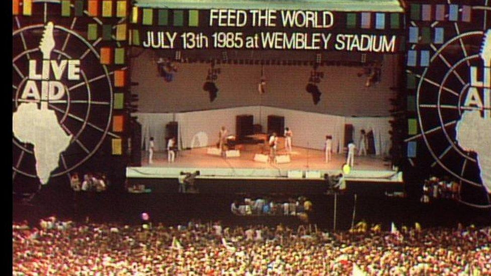Koncert na stadionu Vembli u Londonu
