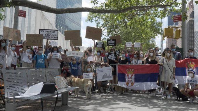 Protesti u Srbiji: Korona virus, demonstracije i nasilje – zašto se dijaspora pridružila protestima 5