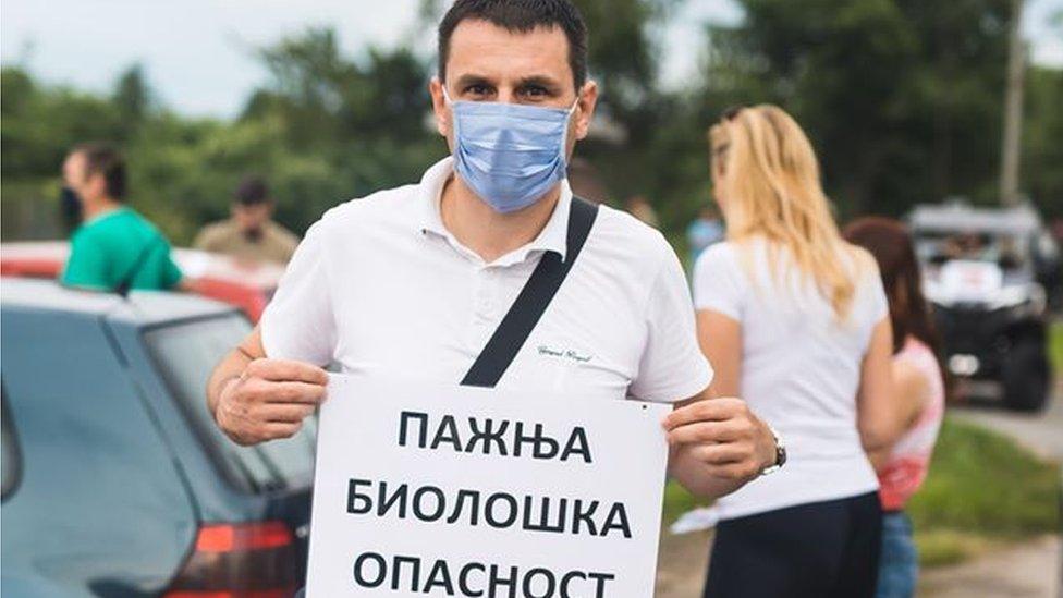Aktivisti u Zrenjaninu