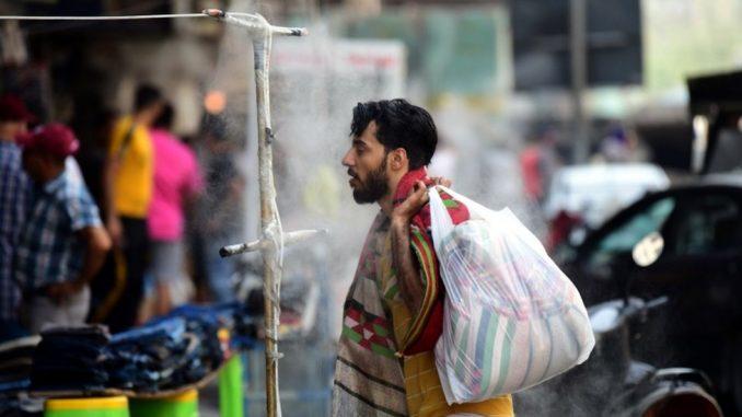 U fotografijama: Kako se Iračani hlade na 50 stepeni 2