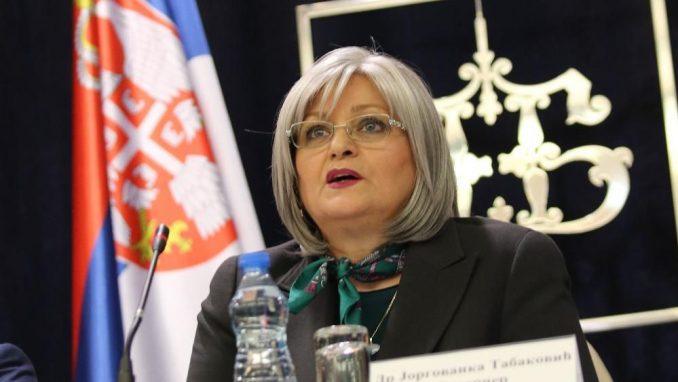 Osam godina Jorgovanke Tabaković na mestu guvernera NBS 2